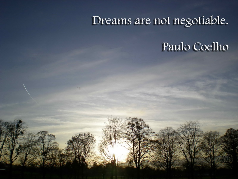 Dreamsarenotnegotiable